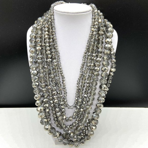 paparazzi Jewelry - Paparazzi Zi Knockout Crystal Beaded Necklace